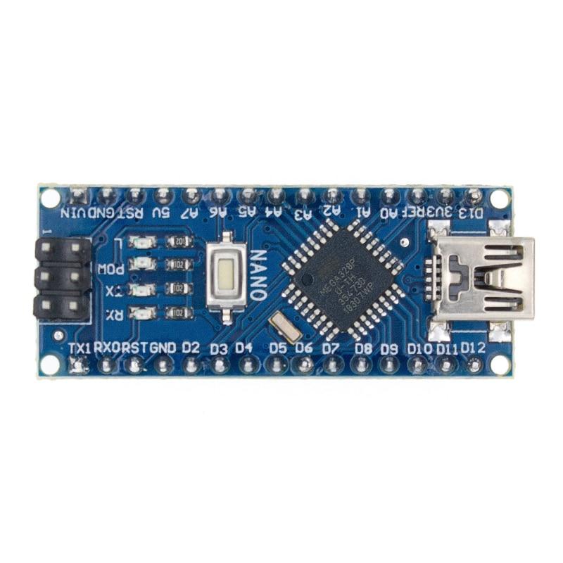 TENSTAR ROBOT Nano 3.0 contrôleur nano CH340 pilote USB ATMEGA328 ATMEGA328P nano avec le chargeur de démarrage pour arduino