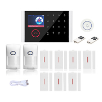 CS108 Wifi+GSM+GPRS Call WiFi 3G Alarm System Kit Wireless Home Business Security Burglar Alarm System Auto Dial Easy to Install