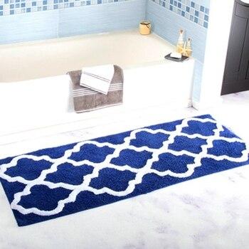 Tapeto antiscivolo da cucina surbente por cámara da letto, Tappeto da bagno en microfibra, conjunto de alfombra de baño