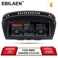 EBILAEN Android 9.0 Auto DVD Radio Auto Speler voor BMW 5 serie E60 E61 E62 E63 3 serie E90 E91 CCC/CIC Navigatie Multimedia