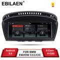 EBILAEN Android 9,0 coche DVD Radio reproductor automático para BMW serie 5 E60 E61 E62 E63 3 series E90 E91 CCC/CIC de navegación Multimedia