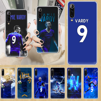 Jamie Vardy soccer football Phone Case cover For XIAOMI redmi note K 4 5 6 7 8 9 10 20 30 3 A X Pro ultra transparent waterproof image