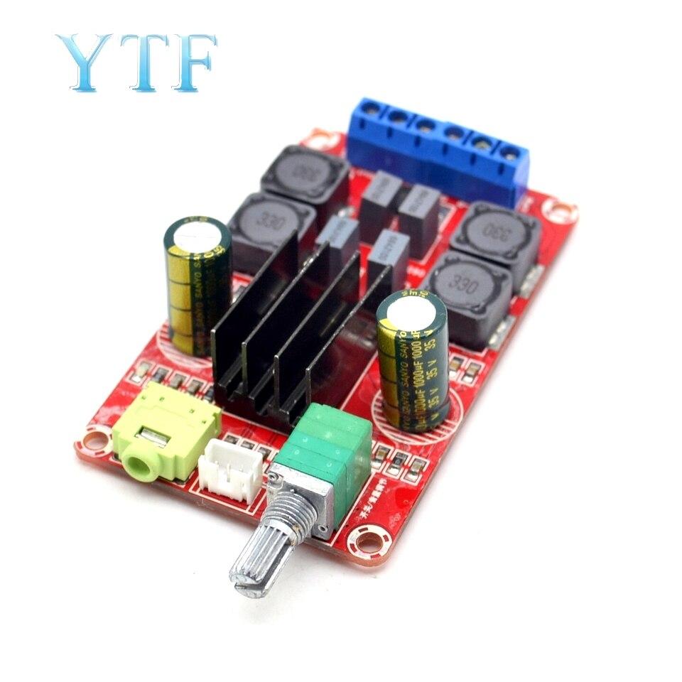 High-End Digital Power Amplifier Board XH-M189 2*50W DC24V TPA3116D2 Two-Channel Stereo Power Amplifier Board