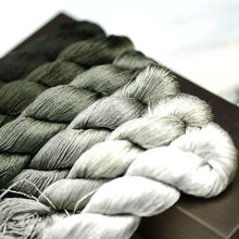 1 pçs 400m 100% fio de seda fio de seda bordado mão bordado bordado ponto cruz ramos e hastes bordado