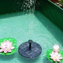 Solar Powered Bird Bath Water Pump Floating Panel Pool Solar Power Fountain Garden Garden landscape Garden Pond Watering Kit