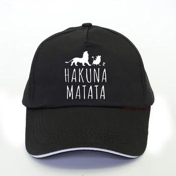 HAKUNA MATATA Lion King Baseball Cap Funny Men Hakuna Matata Trucker cap Cool Summer Fashion Brand Snapback hat