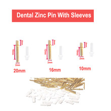 1000 Sets Dental Lab Pin Zinc Alloy Nail Dowel Pin On Model Work 3 Length 10mm 16mm 20mm