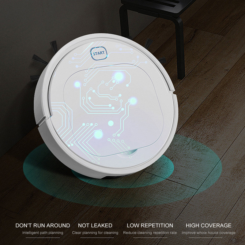 Vacuum-Cleaner Robot Household Dust-Suction Full-Automatic Mini Intelligent Theft title=