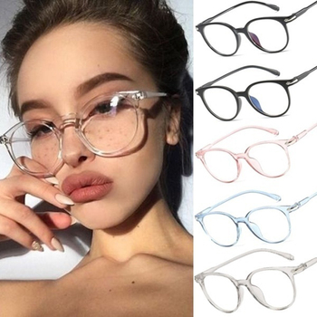 2021 1PC Blocking Smart Phone Len Transparent Anti Blue Ray Computer Gaming Glasses Anti UV Blue Light Stop Eyewears Accessories image