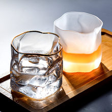 Cup ins wind home glass creative drinking glass breakfast milk juice glass whiskey glass beer glass