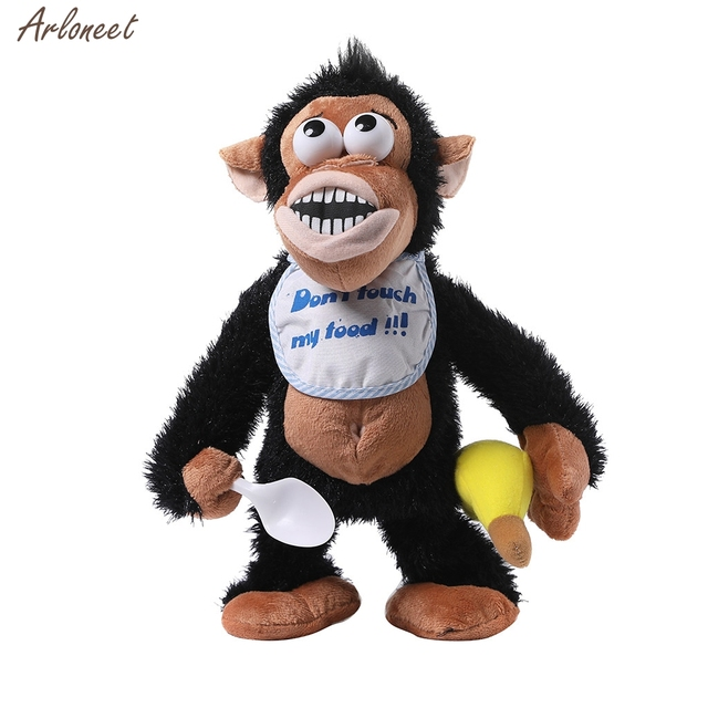 Naughty Crying Monkey Electronic Stuffed Animal Toy Developmental Baby Toy Plush Toys Children Cute Funny Toys Soft New