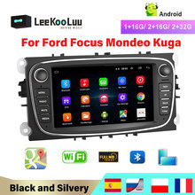 LeeKooLuu 2din Car Multimedia player Android GPS Wifi Autoradio 2 Din For FORD/Focus/Mondeo/S-MAX/C-MAX/Galaxy Radio Rear Camera