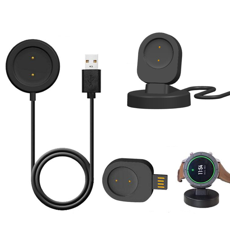 Dock Charger USB Fast Charging Cable Base Adapter Stand Holder For Xiaomi Huami AMAZFIT GTR Smart Watch 42mm 47mm GTS Smartwatch