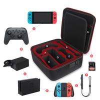 Large Protective EVA Hard Case for Nintend Switch Portable Travel Pouch Storage Carrying Bag for Nintend Switch