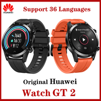 Original Huawei Watch GT2 Smart Watch Bluetooth5.1 Blood Oxygen GPS 14Days Waterproof Phone Call Heart Rate For Android iOS