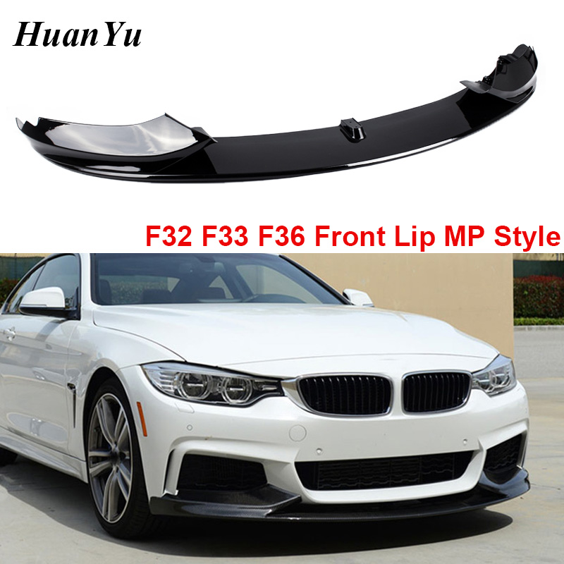For Bmw BMW 4 F32 F33 F36 Front Bumper Spoiler Lip Addon