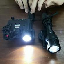 цена на Element Airsoft DBAL Tactical Flashlight IR Led Laser Light Hunting Lamp DBAL-D2 Gun M952V Weapon Light