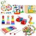 Baby Pädagogisches Spielzeug Holz Spielzeug Montessori Frühen Lernen Baby Geburtstag Weihnachten Neue Jahr Geschenk Spielzeug für Kinder GYH