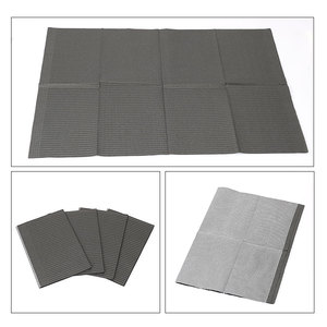 Image 5 - Newest 25Pcs Disposable Tattoo Clean Pad Waterproof Medical Paper Tablecloths Mat Double Layer Sheets Tattoo Accessories 45*33cm