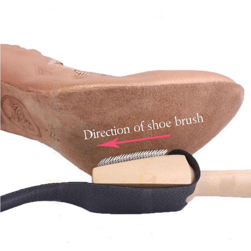 USHINE dans ayakkabıları fırça latin balo salonu dans ayakkabıları kadın erkek