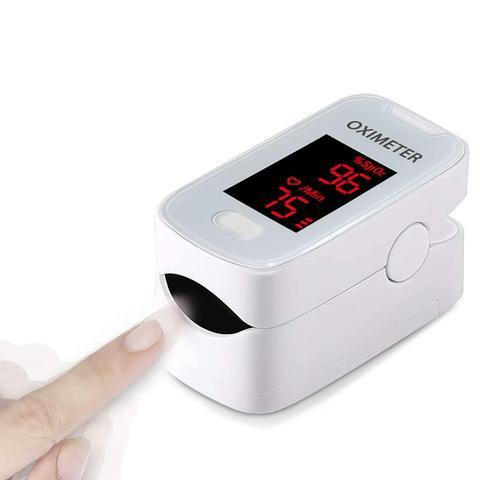 Monitor de Oxigênio Oxímetro de Pulso Monitor de Freqüência Oxigênio Sangue Saturação Portátil Dedo Cardíaca Spo2 w no