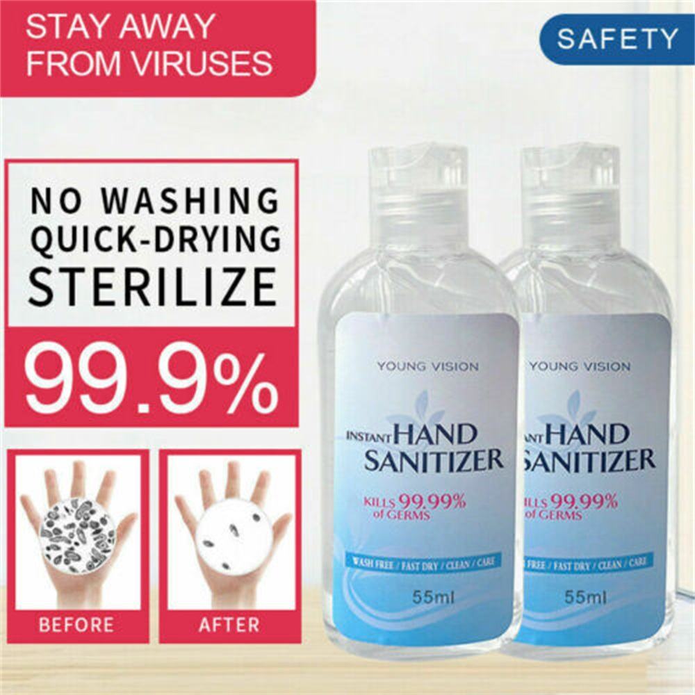 55ml Effective Antibacterial Instant Soluble Dry-Cleaning Hand Soap Disposable