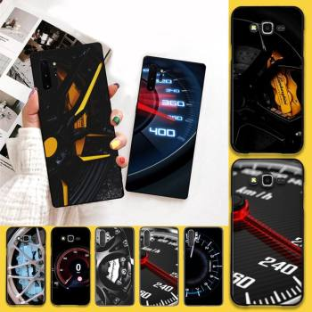 Car Tire Wheel Dashboard Soft Silicone Black Phone Case For Samsung Note 7 8 9 10 Lite Plus Galaxy J7 J8 J6 Plus 2018 Prime image