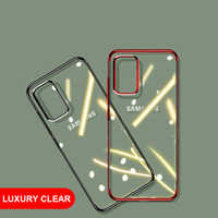 For Samsung Galaxy S20 Plus Case Luxury A51 A71 Laser Plating Soft Clear Cover For Samsung Galaxy S20 Plus Ultra Phone Case S 20