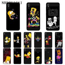 NBDRUICAI Homer J. Simpson TPU Soft Silicone Phone Case Cover for Xiaomi 8 9 se 5X Redmi 6pro 6A 4X 7 5plus note 5 7 6pro(China)