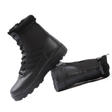 Tactical Airsoft Army Boots Men's Military Combat Hiking Shoes High-top Desert Sport Shoes Outdoor Traveling Climbing Boots цена 2017