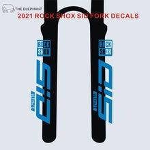 2021 rockshox sid decalques garfo dianteiro stickerbicycle ciclismo mountain bike rockshox mtb garfo adesivos finais