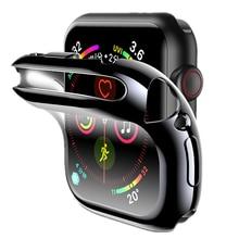 Funda protectora para Apple Watch, protector de pantalla de 44mm/40mm/42mm/38mm para Apple Watch series 6 5 4 3 44mm