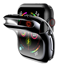 Funda protectora para Apple Watch, protector de pantalla de 44mm/40mm/42mm/38mm para Apple Watch series 6 5 4 3 44mm