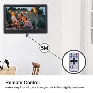 Цифровая фоторамка с экраном 7/8/10 дюйма, HD 1024x600 светодиодный экран с подсветкой, полнофункциональное изображение, музыка, видео, электронный...