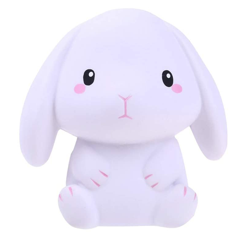 New Big Rabbit Squishy Cute  Animal Squishies Cream Scented Slow Rising Creative Soft Squeeze Stress Relief Fun Kid Toy Gift