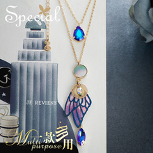 SPECIAL multi-layer dual-use temperament necklace high cold thin lining skin sudden love 2019 new trend