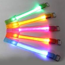 Портативное светодиодный ное освещение 4 шт ремни для нога лошади