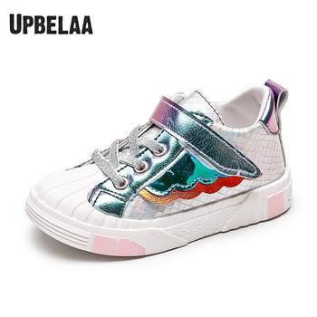 Zapatos de niños para niñas zapatillas de bebé niño deportes niños zapatos planos casuales alas de moda Arco Iris niños zapatos casuales nuevo diseño