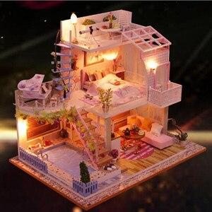Modern style villa DIY Doll Ho