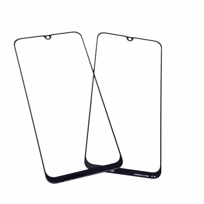 A 50 شاشة خارجية لسامسونج غالاكسي A50 الجبهة لوحة اللمس شاشة الكريستال السائل خارج الزجاج غطاء عدسة الهاتف إصلاح استبدال أجزاء