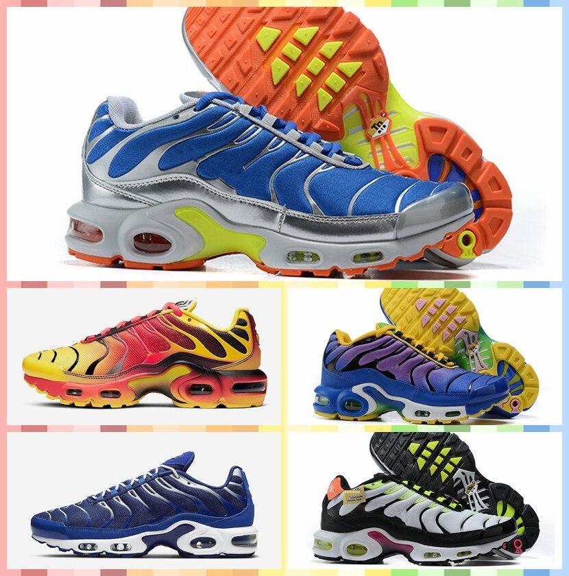 2021 Original atléticos zapatillas de deporte zapatilla TN Plus zapatos 95 tn hombres 97 al aire libre correr Zapatos negro 98 zapatillas deportivo blanco