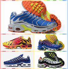 Chaussures de course pour hommes, Sneakers d'athlétisme originales, TN Plus 95 tn 97 chaussures de course en plein air, noir 98 baskets blanches de sport, 2021