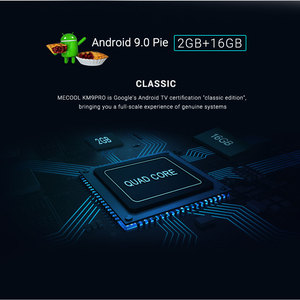 Image 3 - Mecool KM9 Pro Classic Google Certified Amlogic S905X2 Android 10.0 2G 16G 4K HDR Cast Voice Control Android TV Box Prefix