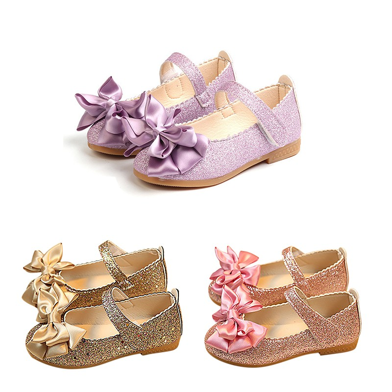 Baby Shoes Ballet Flats Children\'s Shoes Bling bling Princess Shoe For Girls Kids Shoes|  - title=