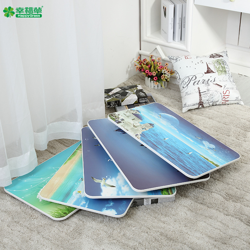 Direct Selling Happiness Soka Large Size Laptop Folding Table Bed Students Learning Cartoon Pattern Ultrastable Desk