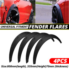 2 polegada 50mm universal carro mud flaps paralama respingo guardas fender corpo extra largo roda arcos mudflaps acessórios