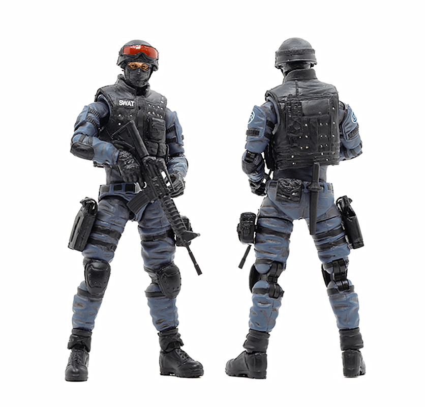 JoyToy 1//18 Soldier SWAT PVC Action Figure Collectible New Toys In Stock