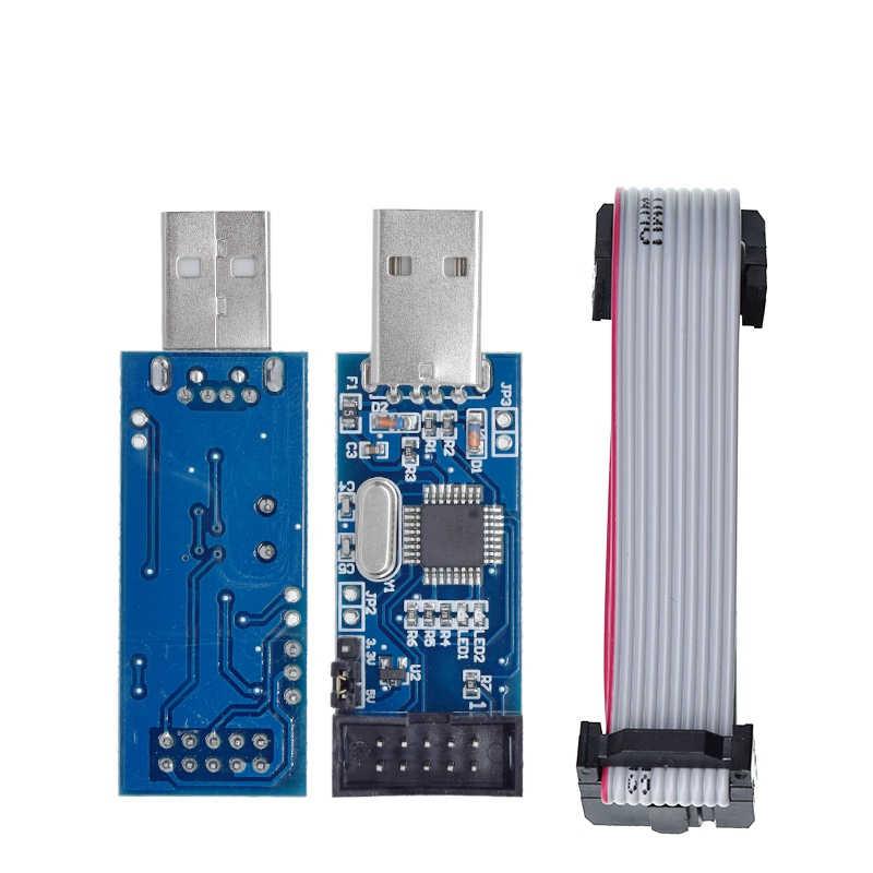 1 шт., программатор Great IT USBASP USBISP AVR USB ISP USB ASP ATMEGA8 ATMEGA128 Поддержка Win7 64