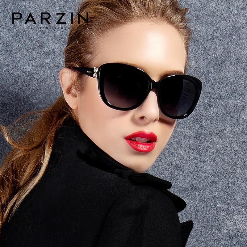 PARZIN New Arrival Luxury Sunglasses Women Polarized with UV400 Lens Top Quality Acetate Sun Glasses|Women's Sunglasses| - AliExpress