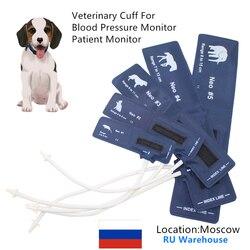 Todo o tamanho elefante cavalo cão gato e mouse manguito de pressão arterial veterinária do monitor paciente para animais pequenos com único tubo